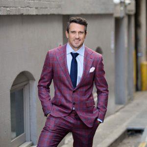 Lee Carseldine with Style Magazine